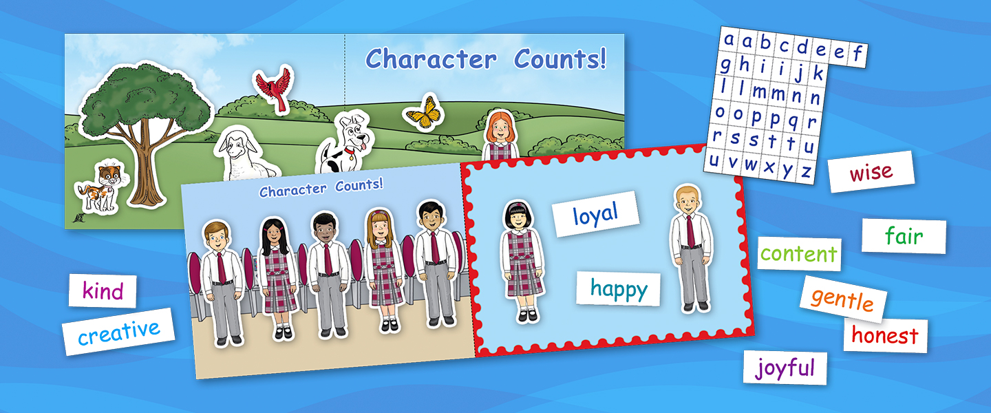 Just Released: The Character Counts Magnetic Board