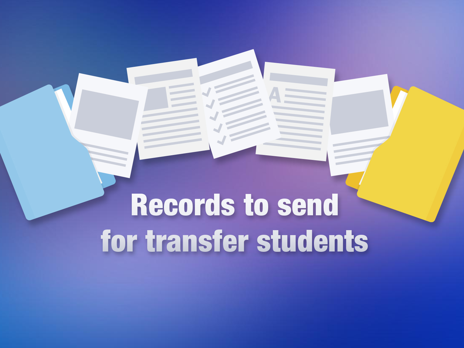 Records for Transfer Students