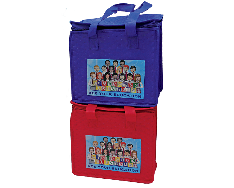 lunch tote with ACE your education image