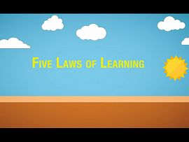 5 Laws of Learning