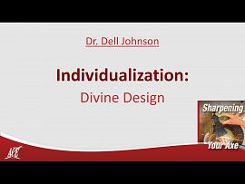 Dr. Dell Johnson: Individualization